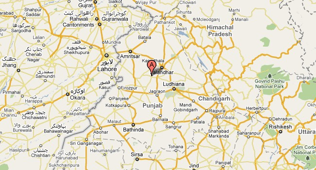 Kotkapura Punjab Map Images - Pakpattan map