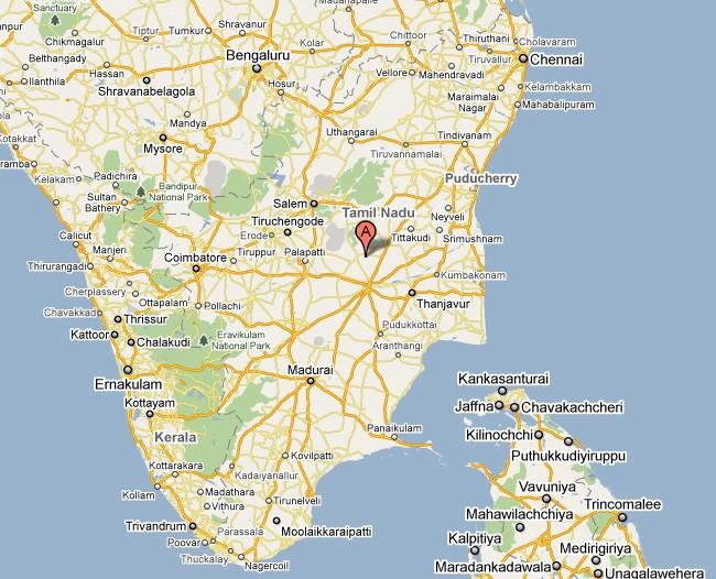 South India Map Tamil Nadu Tamil Nadu Map