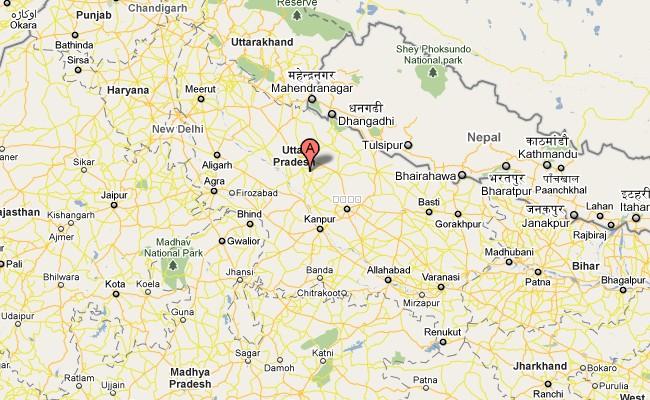 uttar pradesh map pdf in hindi